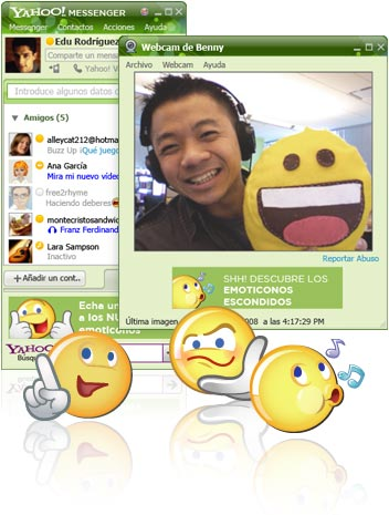 Pingbox: Chat de Yahoo Messenger 9 en tu web