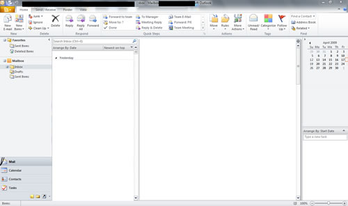 MS Office 2010 Outlook