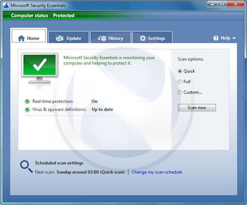 Descarga Microsoft Security Essentials Morro