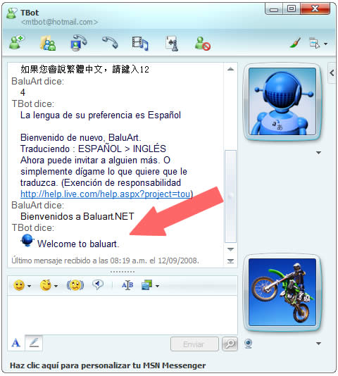 Messenger traductor 3