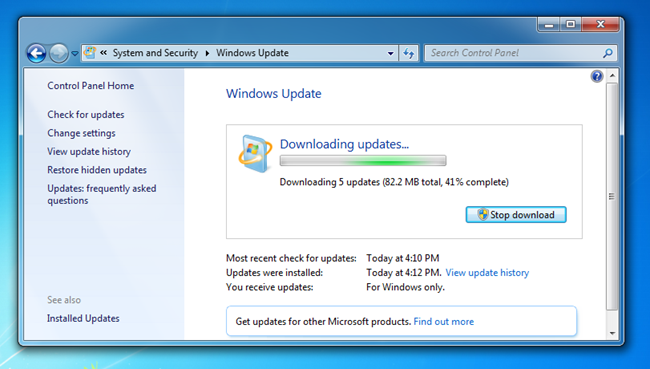 Descargar Service Pack 1 Windows 7