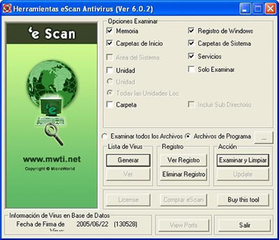 eScan Antivirus Serial Gratis