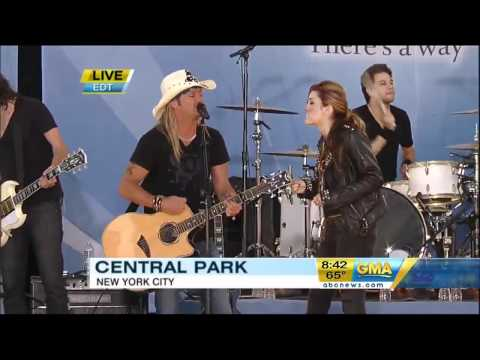 Video de Bret Michaels y Miley Cyrus - Every Rose Has a Thorn